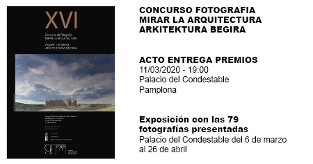 CONCURSO FOTOGRAFÍA MIRAR LA ARQUITECTURA
