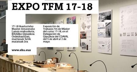 Exposición de los trabajos de fin del Máster Universitario en Arquitectura